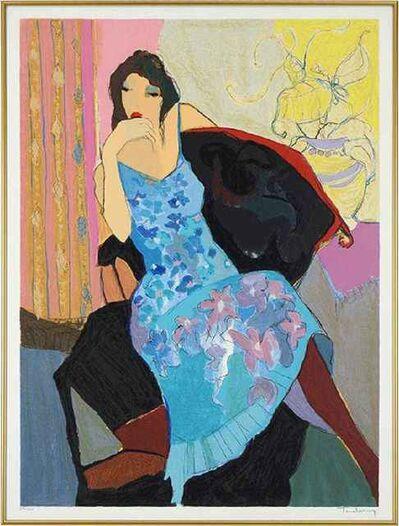 Itzchak Tarkay, 'Daydream (Seated Woman)', Unknown
