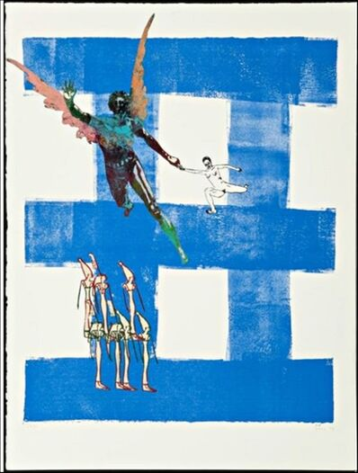 Nancy Spero, 'Airborne', 1998