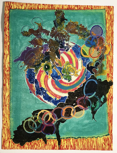 Frank Stella, 'Juam, State 1', 1997