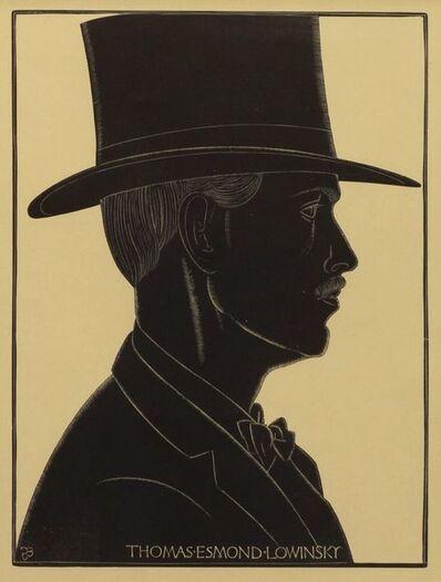 Eric Gill, 'Thomas Esmond Lowinsky [Physick 276], 1924; Gordian Gill [Physick 280], 1924;  Elizabeth Gill[Physick 279], 1924; Beatrice Warde [Physick 400], 1926;'
