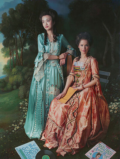E2 - KLEINVELD & JULIEN, 'Ode to Gainsborough's The Linley Sisters', 2013