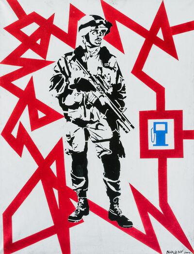 Blek le Rat, 'Shock And Awe', 2006