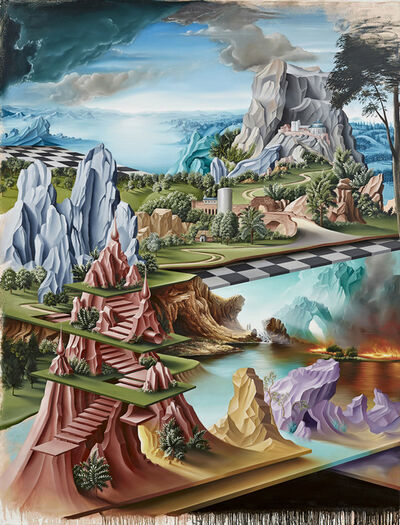 Peter Daverington, 'The Hanging Gardens of Nineveh', 2014