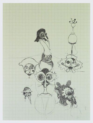 Gert & Uwe Tobias, 'Ohne Titel V Figurenskizze', 2000-2010