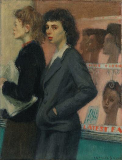 Raphael Soyer, 'Passersbys', 1933