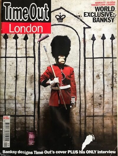 Banksy, 'Time Out Magazine London', 2010