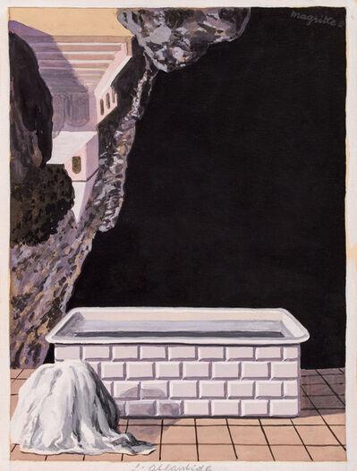 René Magritte, 'L'Atlantide ', 1957-1958