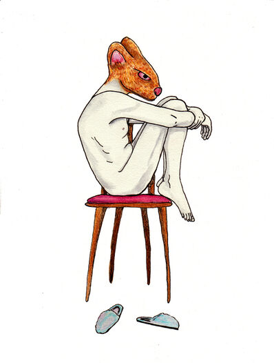 """Simona Schaffer, 'Chair II, from the """"Nagual: the animal within"""" series', 2014"""