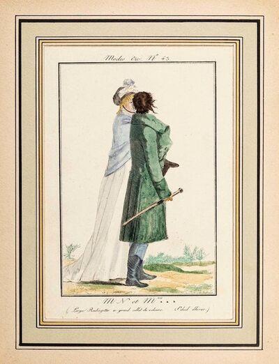 Philibert-Louis Debucourt, 'M. N. et Mme*** - From Modes et Manières du jour à Paris...', Early 19th Century