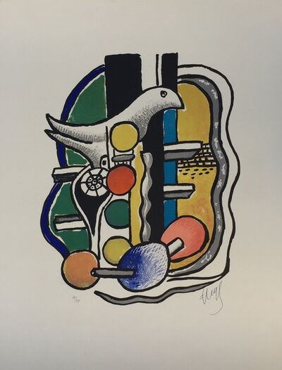 Fernand Léger, 'La Colombe (The Dove)', 1951