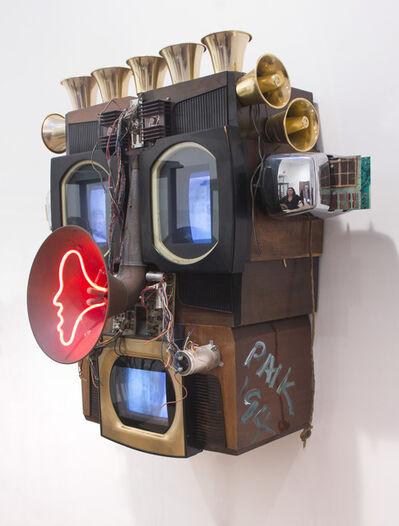 Nam June Paik, 'Internet Dweller: mpbdcg.ten.sspv', 1994