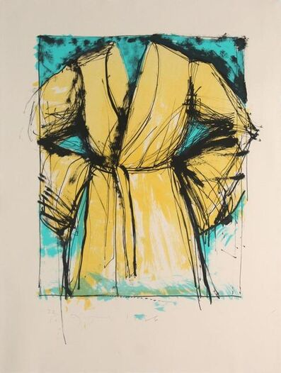 Jim Dine, 'A robe', 1986