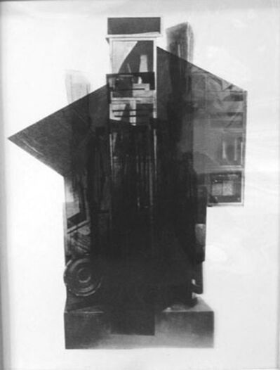 Louise Nevelson, 'from: Facades', 1966