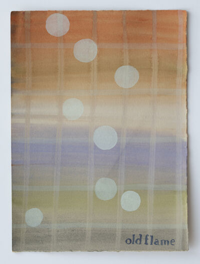 Julia Kuhl, 'Domestic Textiles Series, Old Flame', 2019