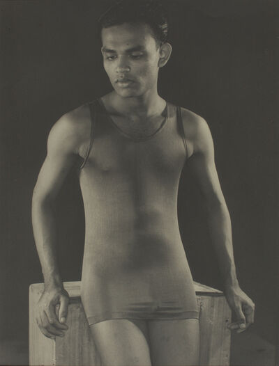 Lionel Wendt, 'Untitled (Man in a swimsuit)', ca. 1935