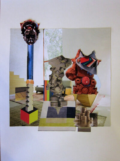 Nadia Naveau, 'collage', 2014