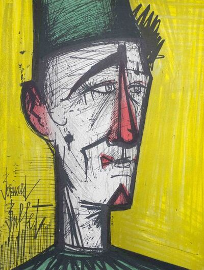 Bernard Buffet, 'Clown (Yellow)', 1968
