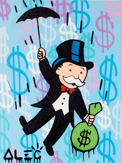 Alec Monopoly, 'Monopoly Umbrella Carry Away $ Bag ', 2019
