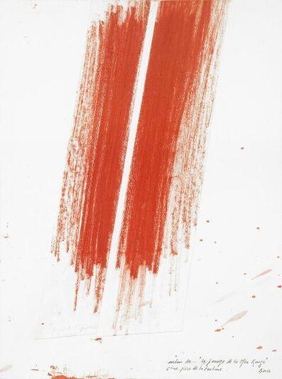 Pierre Buraglio, 'D'après ... Poussin. Le passage de la mer rouge', 2012