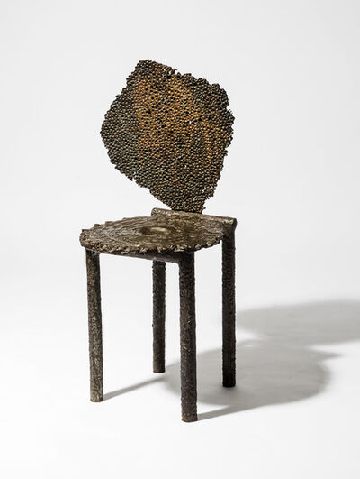 Michele Oka Doner, 'Meteorite Cosmos Chair ', 1990