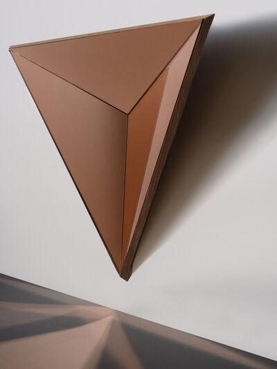 Robert Sukrachand, 'Volume Peach Mirror Concave', 2017