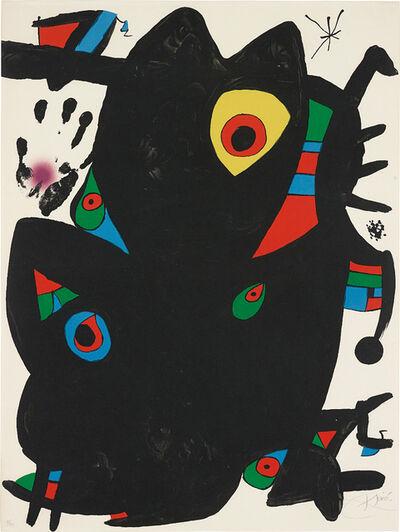Joan Miró, 'Montroig II', 1973