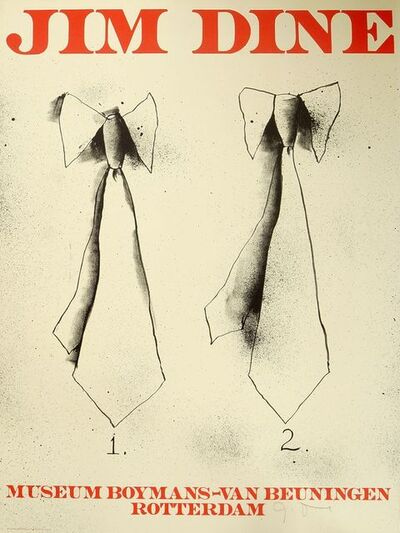 Jim Dine, 'Saw, Two Ties', 1971