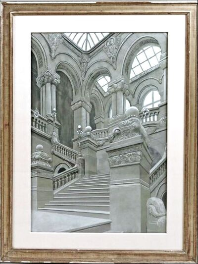 Richard Haas, 'Great Western Staircase, New York State Capitol Building, Albany (from Readers Digest Association Collection) ', 1980