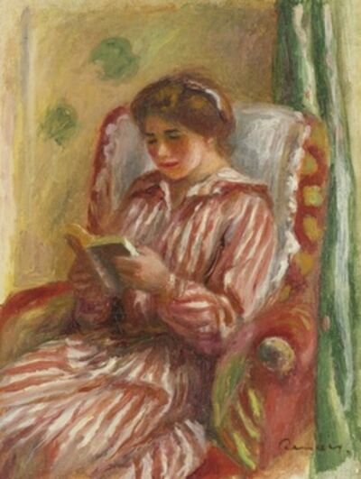 Pierre-Auguste Renoir, 'Gabrielle Lisant'