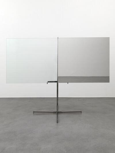 Luciano Fabro, 'Mezzo specchiato mezzo trasparente (Half Mirrored Half Transparent)'