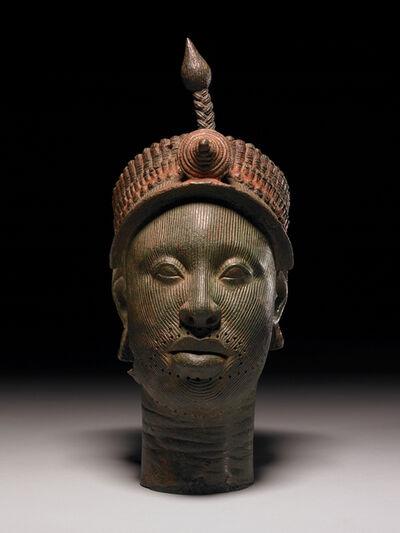 'Ife head: brass head of a ruler', ca. 1300s-early 1400s