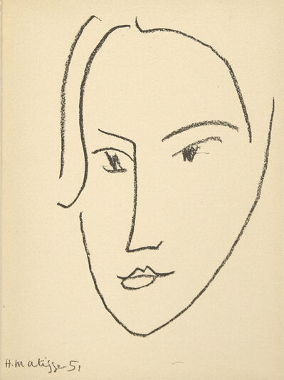 "Henri Matisse, 'from ""Matisse, His Art and His Public""', 1951"