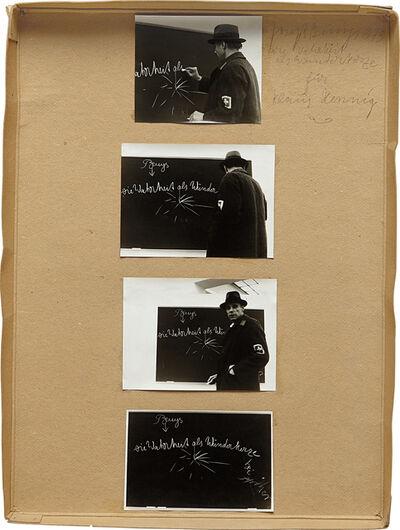 Joseph Beuys, 'Die Wahreit als Winderkerze für Klaus Hennig', 1973