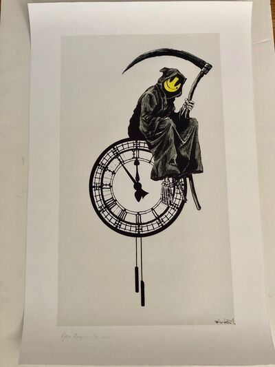 After Banksy, 'Grin Reaper', 2018
