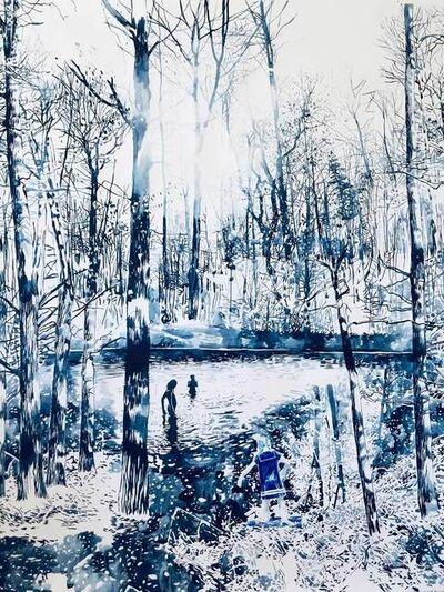 Malgosia Jankowska, 'Der Blaue See', 2021