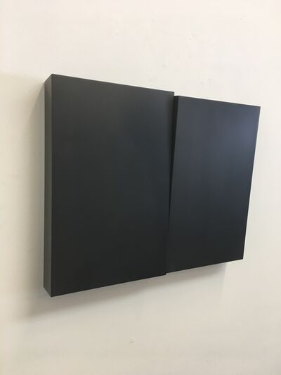 Susan York, 'Wedge diptych I', 2018