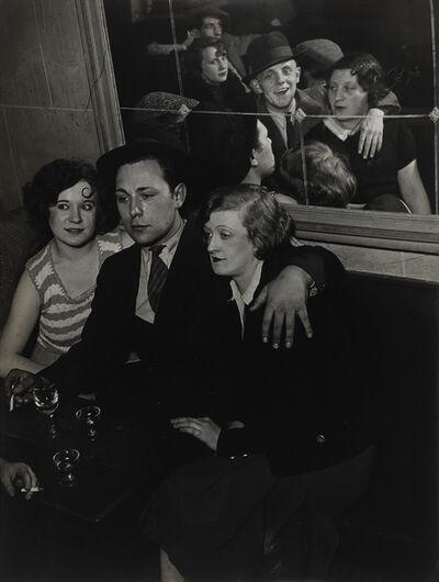 Brassaï, 'Groupe joyeux au bal musette des Quatre-Saisons (A happy group at the Bal des Quatre-Saisons)', 1932
