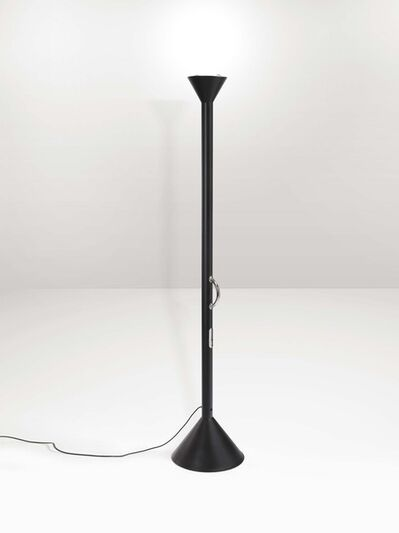 Ettore Sottsass, 'A Callimaco lamp with a lacquered metal structure, limited edition', 1982