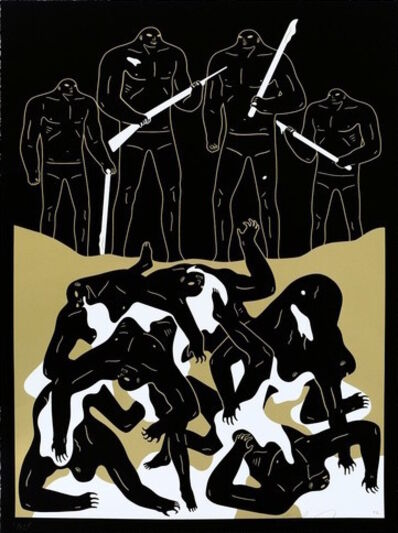Cleon Peterson, 'The Genocide - Black', 2016