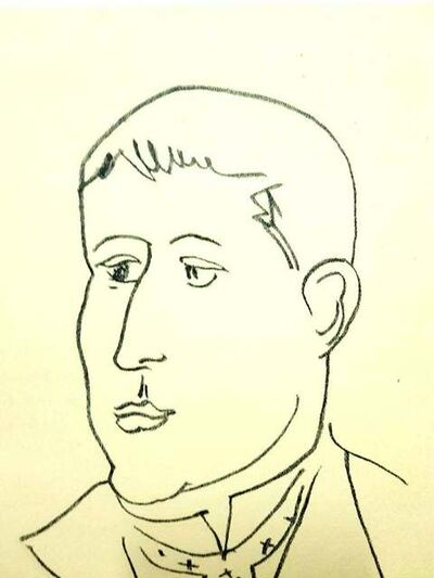 Henri Matisse, 'Original Lithograph - Henri Matisse - Apollinaire', 1949