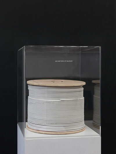 Mounir Fatmi, '500 Meters of Silence', 2007