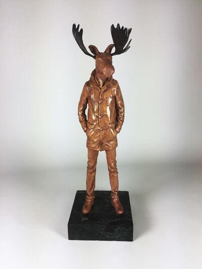 Joseph Lupiani, 'Cherry Longcoat Moose', 2018