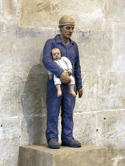 Sean Henry, 'Man and child', 2001