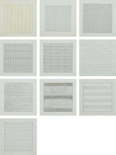 Agnes Martin, 'Paintings and Drawings', 1990-1991