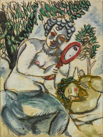 Marc Chagall, 'Samson and Delilah (Le Miroir)', 1911