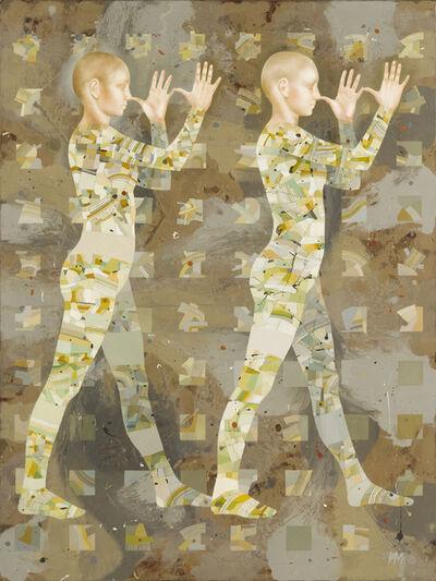 Igor & Marina, 'Walkers-XIII (Big Noses)'