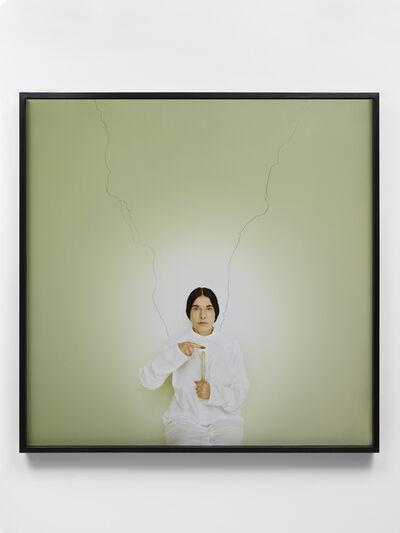 Marina Abramović, 'Artist Portrait with a Candle (C)', 2013
