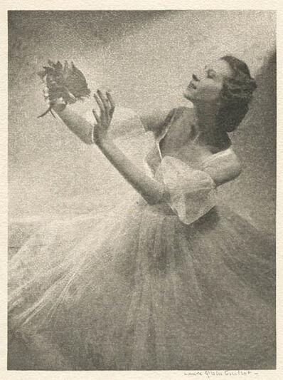 Laure Albin-Guillot, 'Janine Charrat Holding a Flower', 1946c/1946c