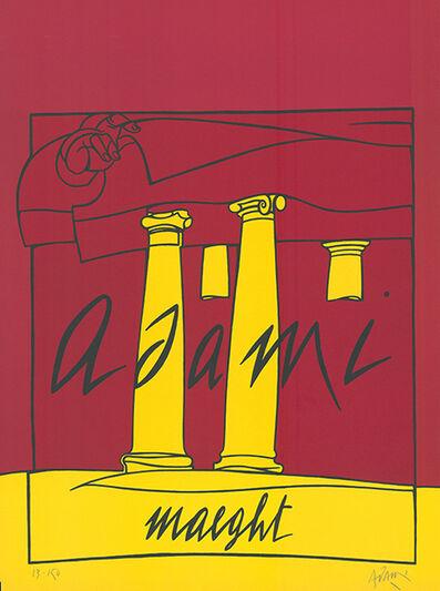 Valerio Adami, 'Adami / Maeght', 1980