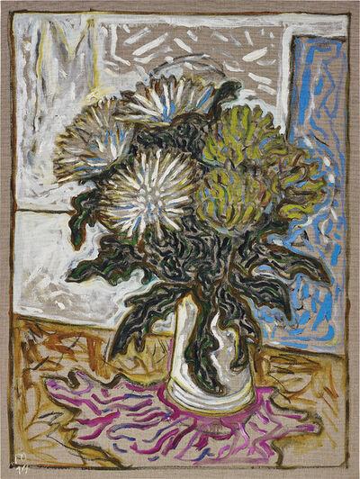Billy Childish, 'chrysanthemums', 2014